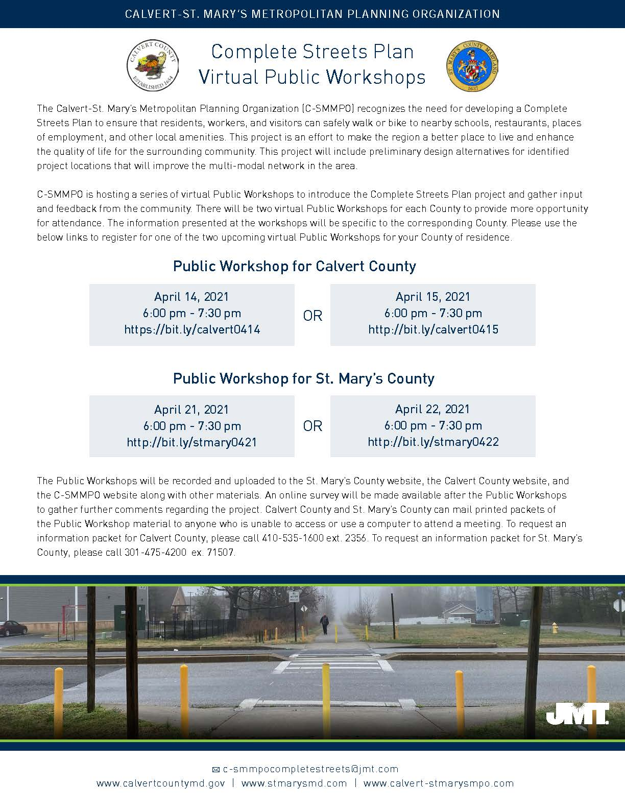 C-SMMPO Public Workshop Flyer